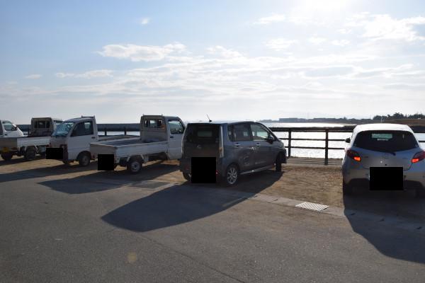 大淀漁港駐車スペース