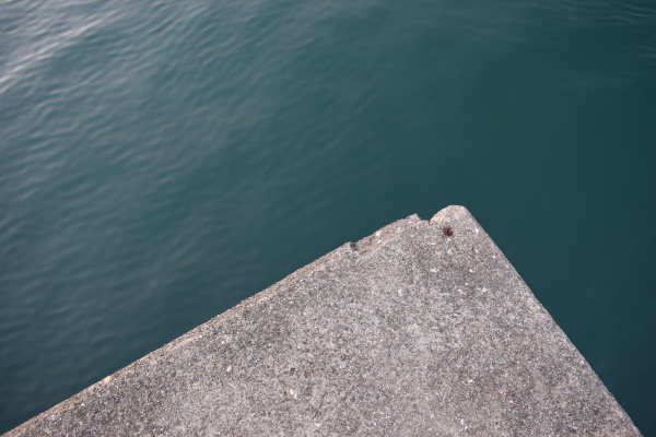 小浜漁港堤防先端