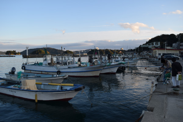 小浜漁港内側