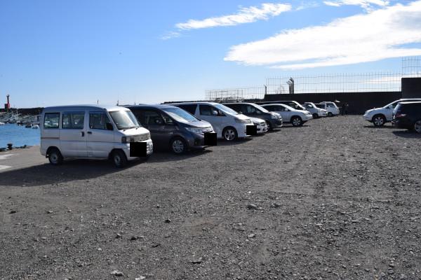 和具漁港駐車スペース
