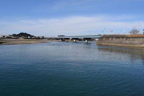 会津川河口の釣りポイント