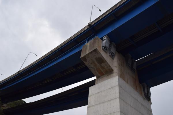 国道42号線の橋げた