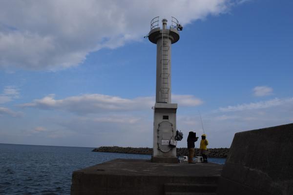 河芸漁港の灯台