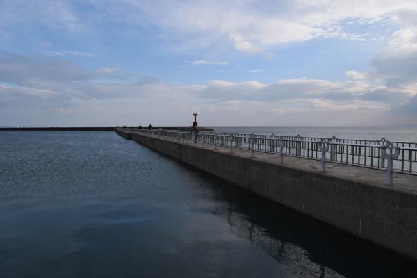 白子漁港堤防