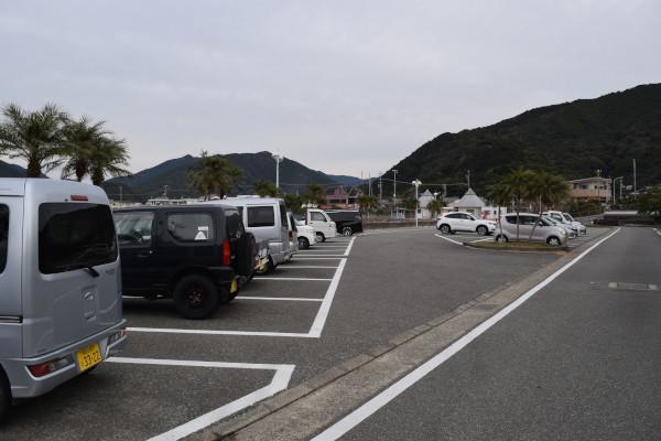 すさみ海水浴場駐車場