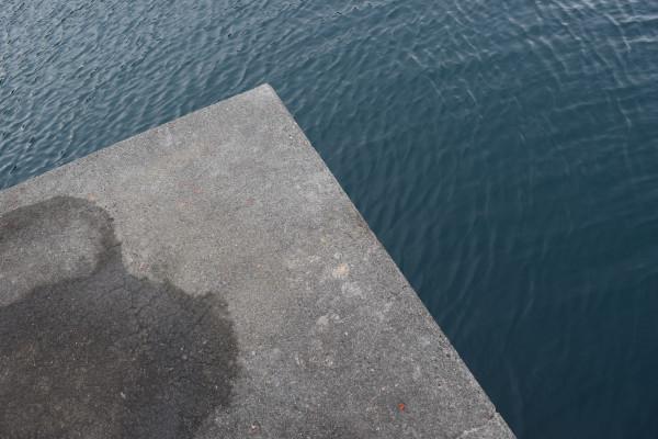 すさみ海水浴場堤防先端