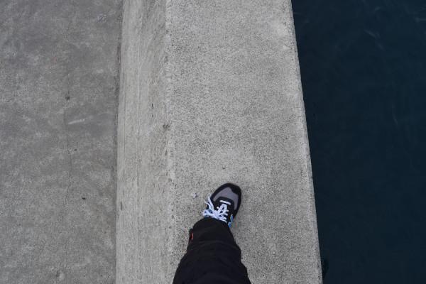 すさみ海水浴場堤防上段