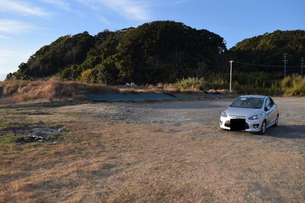 田並漁港駐車スペース