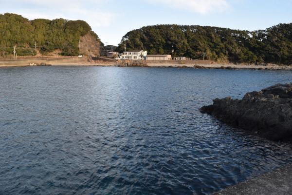 田並漁港内側