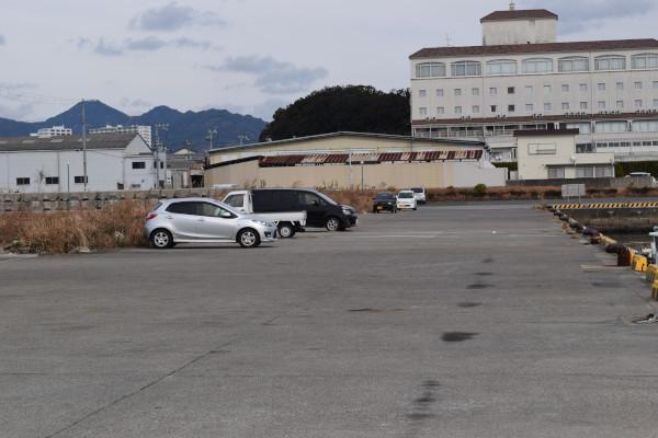 蝦島エリア駐車場