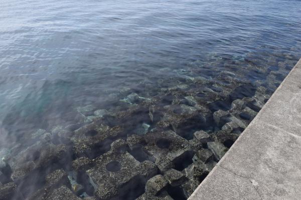堤防のブロック