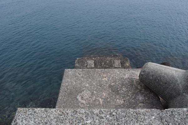 蝦島エリア堤防先端