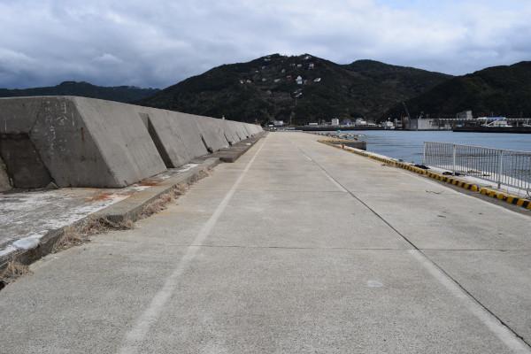 阿尾漁港堤防