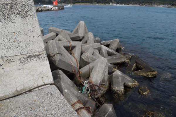 阿尾漁港堤防先端