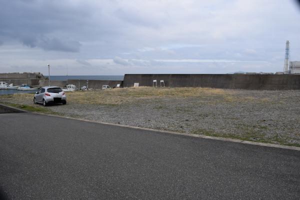 祓井戸漁港の駐車スペース