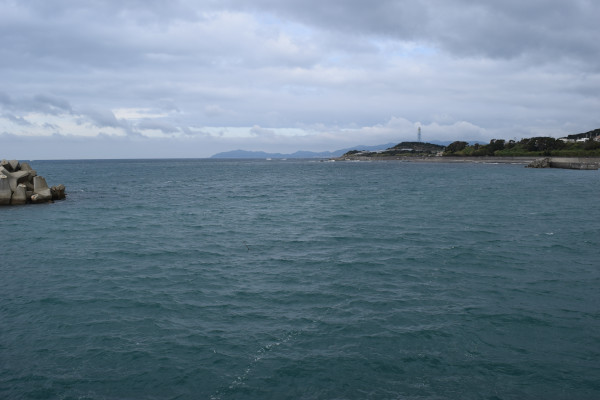 加尾漁港外側