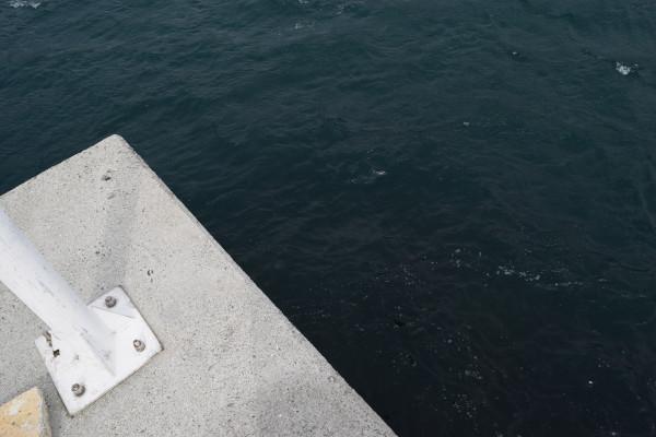 小浦漁港釣りポイント2先端