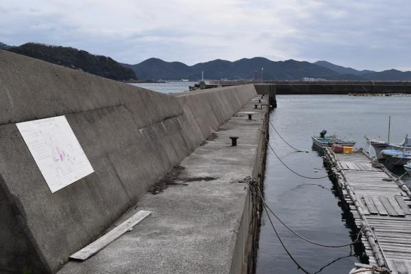 小浦漁港釣りポイント1