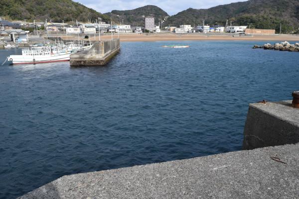 大引漁港釣りポイント
