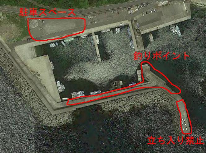 大引漁港航空写真