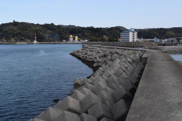湯浅広港堤防