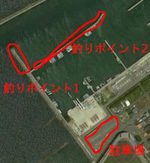 箕島漁港航空写真