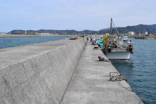 箕島漁港釣りポイント2