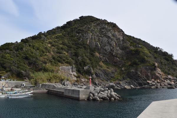 逢井漁港の風景