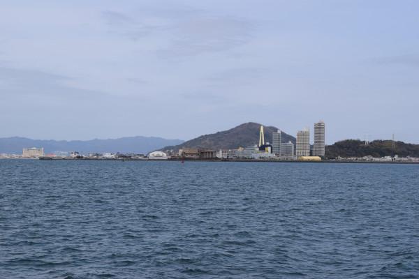 塩津漁港からの風景