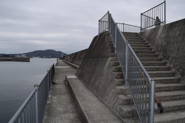 田ノ浦漁港階段
