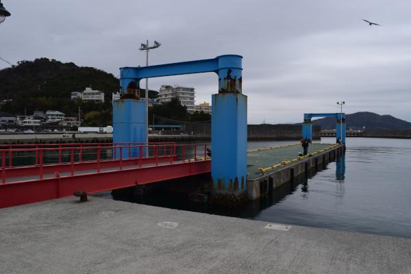 田ノ浦漁港浮桟橋
