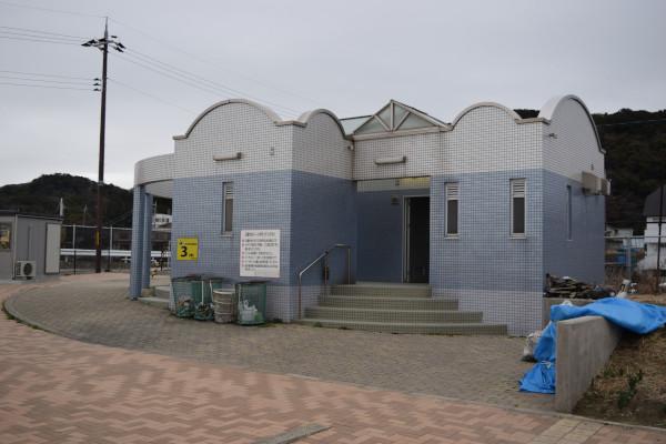 加太北ノ浜公園のトイレ