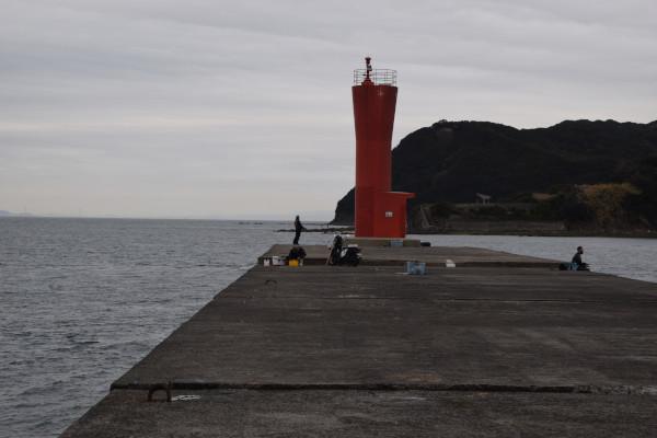 加太港灯台